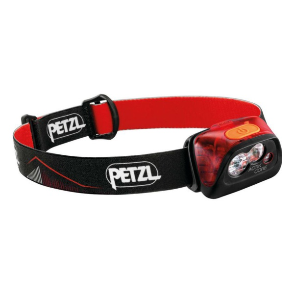Фонарь с Petzl аккумуляторами Petzl Actik Core красный