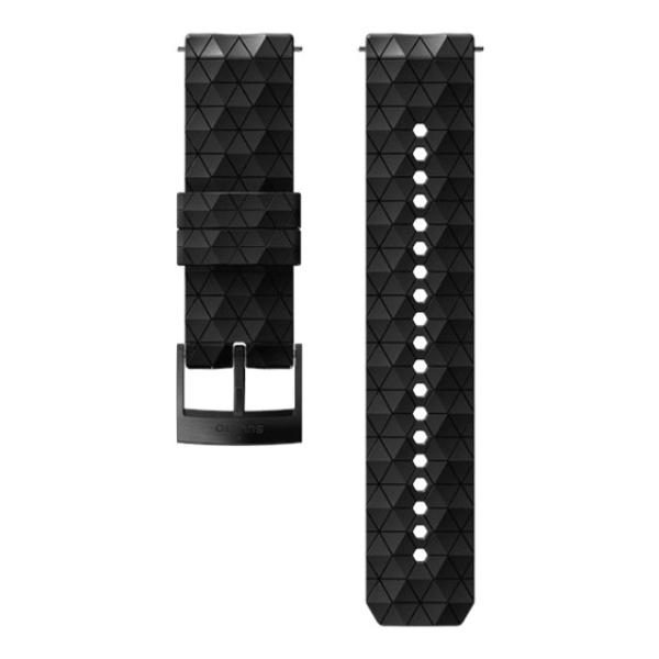 купить Ремень Suunto Suunto 24 mm Explore 2 Silicone Strap черный M