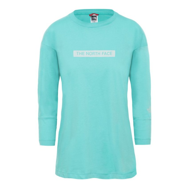 Футболка The North Face The North Face Light Ls Tee Retro Green женская ветровка the north face the north face th016emffws1