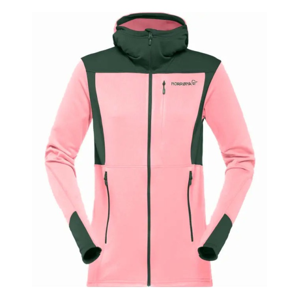 Куртка Norrona Norrona Falketind Warm1 Stretch Zip Hoodie женская