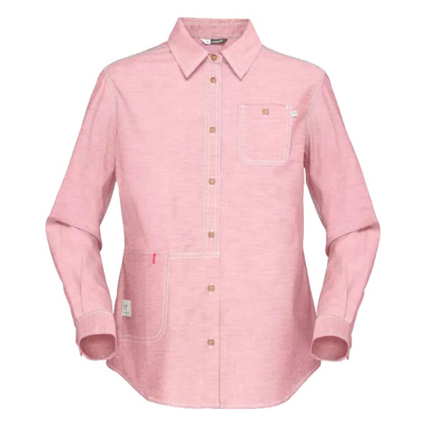 Рубашка Norrona Svalbard Cotton Shirt женская