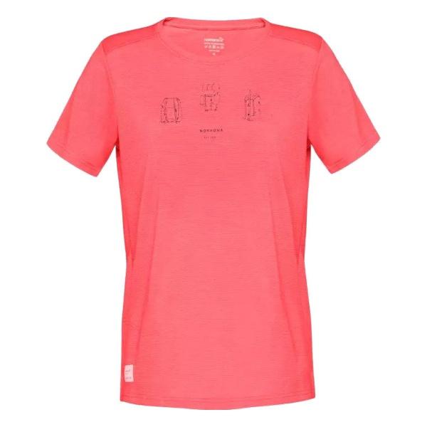 Футболка Norrona Norrona Svalbard Wool T-Shirt женская