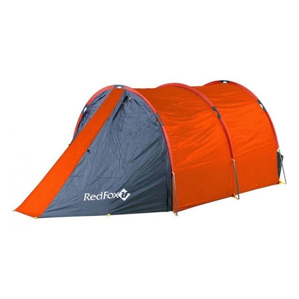 Палатка Red Fox Red Fox Fox Cave 4 оранжевый 4/местная палатка red fox red fox fox explorer оранжевый 2 местная