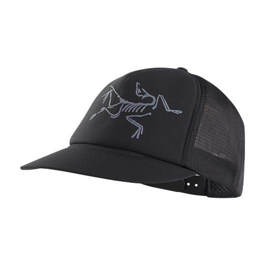 купить Кепка Arcteryx Arcteryx Bird Trucker Hat черный дешево