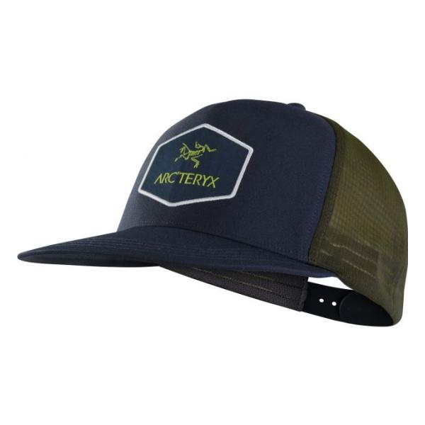 купить Кепка Arcteryx Arcteryx Hexagonal Trucker Hat темно-синий дешево