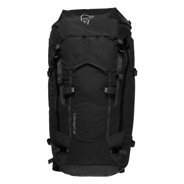 Рюкзак Norrona Norrona Trollveggen 45L Pack (M) черный 45л