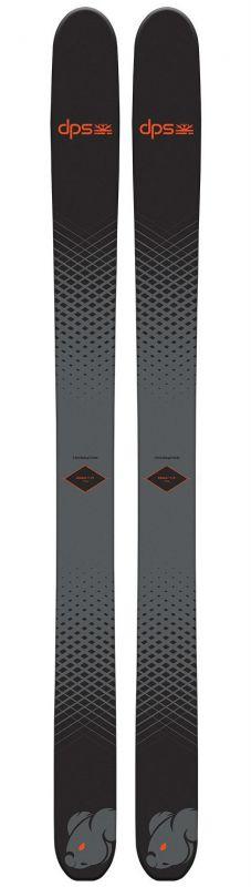 Горные лыжи DPS Wailer Koala F119 черный (20/21)