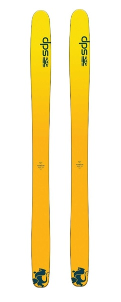 Горные лыжи DPS Wailer F112 RP желтый (20/21)