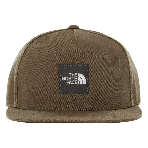 Кепка The North Face Throwback Tech Hat темно-зеленый OS