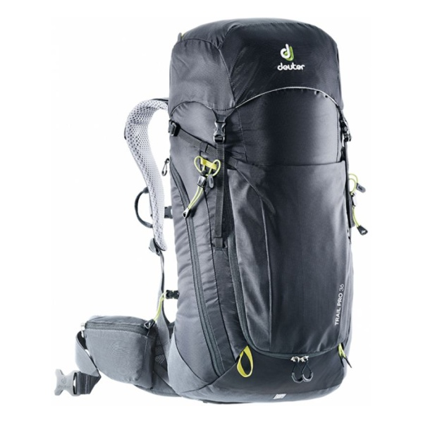 Рюкзак Deuter Deuter Trail Pro 36 темно-серый 36л цена
