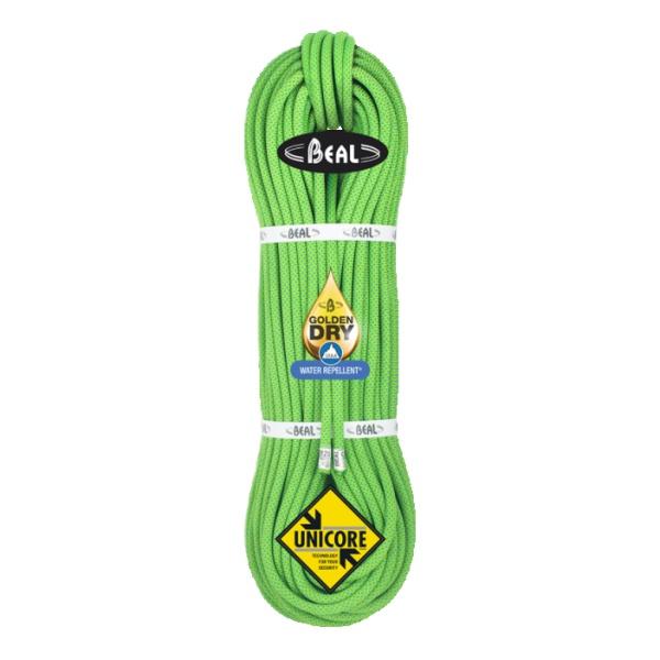 Верёвка Beal 8.5mm Opera Golden Dry 60 зеленый 60М
