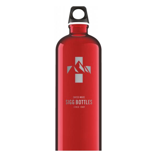 Фото - Бутылка для воды SIGG Sigg Mountain 1L красный 1Л бутылка для воды sigg sigg leaf 1л