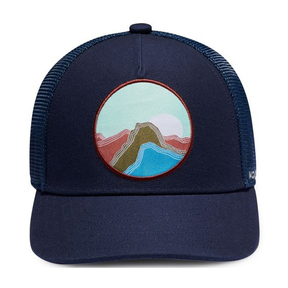 Кепка Mountain Hardwear Mountain Hardwear Pinicle Trucker Hat темно-синий ONE mountain hardwear mountain hardwear bozeman torch