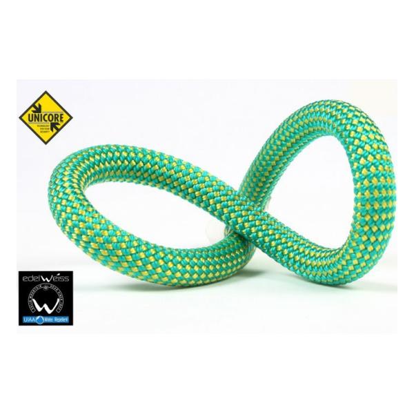 Веревка динамическая Edelweiss Edelweiss Performance 9.2 мм (бухта 60 м) зеленый 60M веревка динамическая edelweiss element ii 10 2 мм зеленый 1м