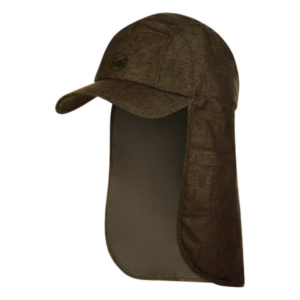 Кепка BUFF Buff Bimini Cap темно-коричневый ONESIZE