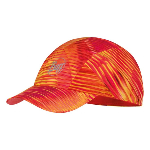 Кепка BUFF Buff Pro Run Cap Patterned красный ONESIZE