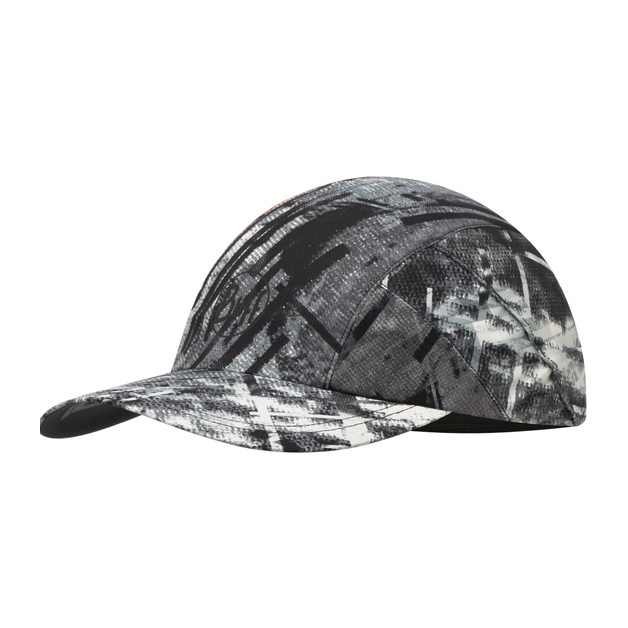 цены на Кепка BUFF Buff Pro Run Cap Patterned серый ONESIZE  в интернет-магазинах