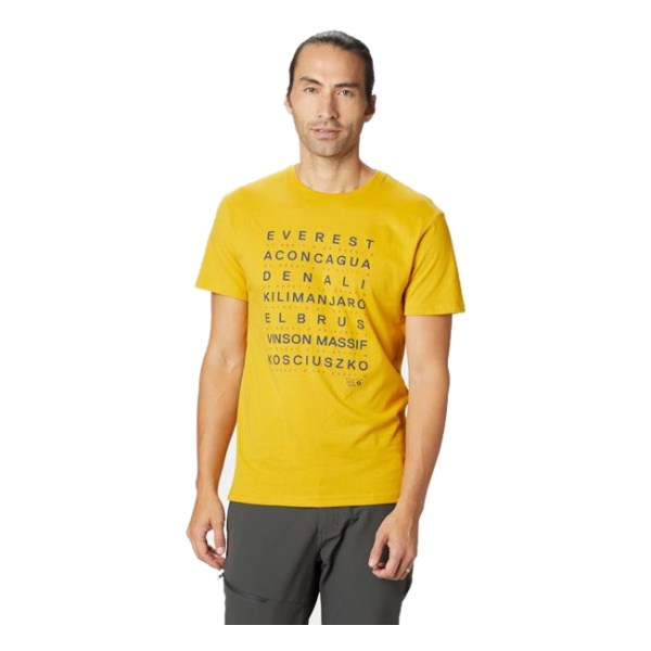 Футболка Mountain Hardwear Mountain Hardwear Seven Summits Short Sleeve T mountain hardwear mountain hardwear bozeman torch