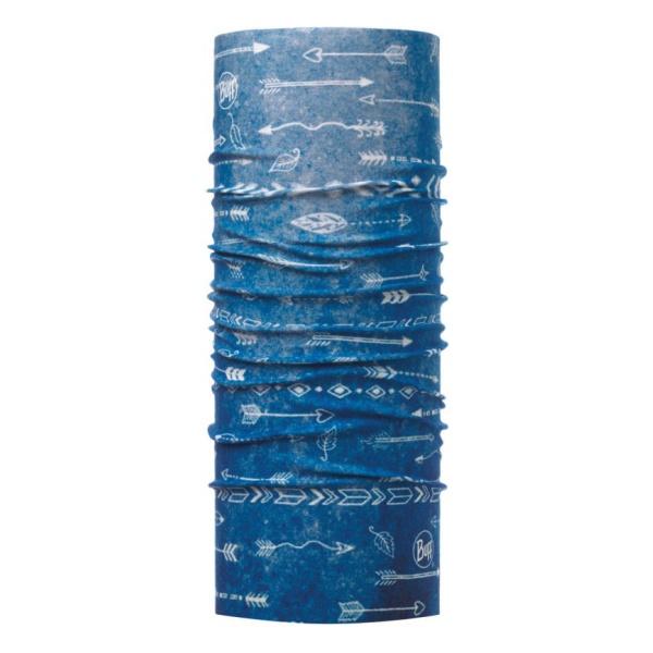 Бандана BUFF Buff Coolnet® UV+ детская синий ONESIZE банданы buff бандана high uv protection high uv buffsolid fiery red