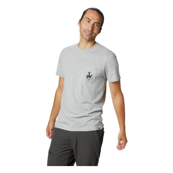 Футболка Mountain Hardwear Mountain Hardwear Secret Stash 2 Short Sleeve T mountain hardwear mountain hardwear bozeman torch