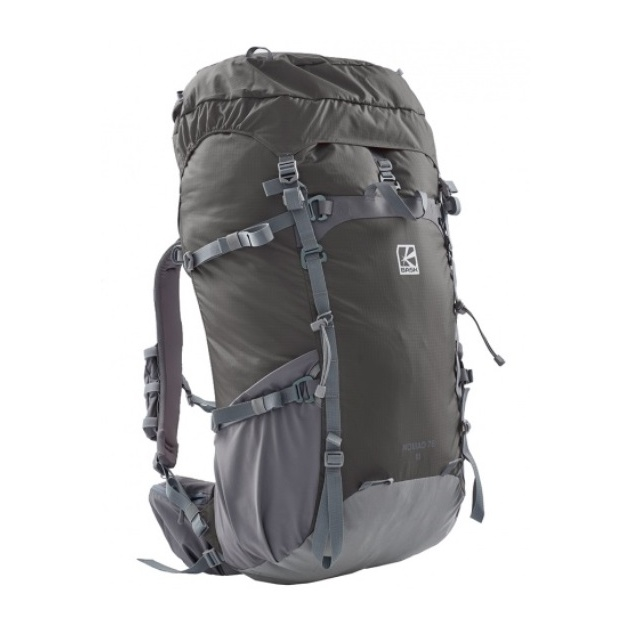 Рюкзак BASK Bask Nomad 75 M темно-серый 75л