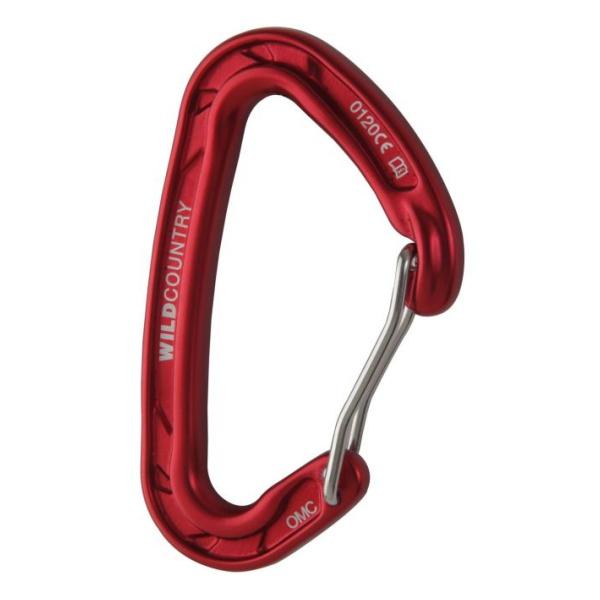 Карабин Wild Country Wild Country Astro красный динамический буксир разрывная нагрузка 6т 6м 70мм строп про sp04801