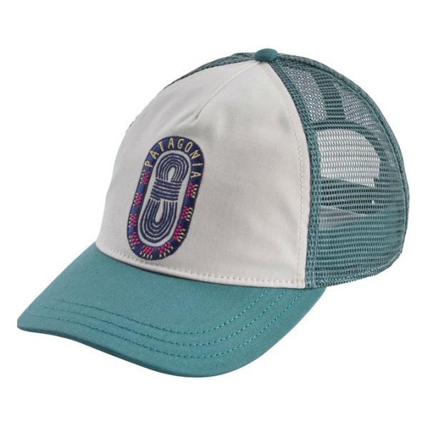 Бейсболка Patagonia Patagonia Paper Peaks Badge Layback Trucker Hat женская белый ONE