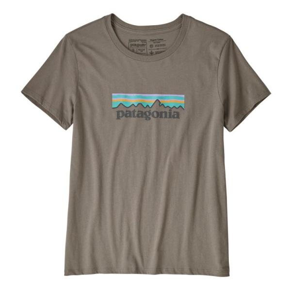 Футболка Patagonia Patagonia Pastel P-6 Logo Organic Crew T-Shirt женская skull paisley print crew neck t shirt