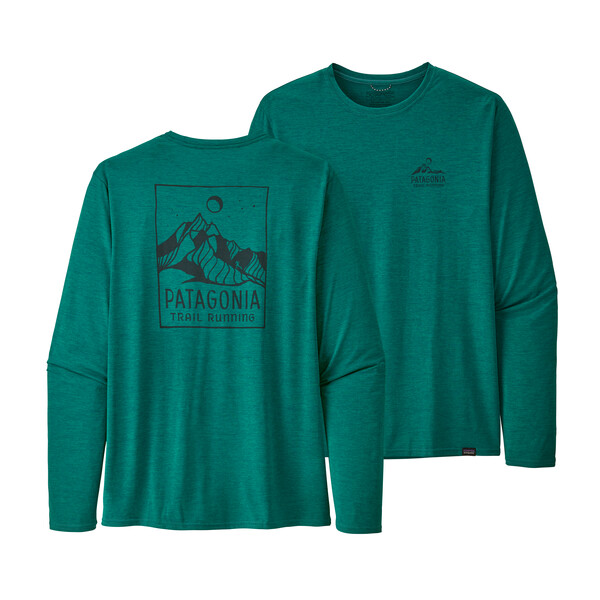 Купить Футболка Patagonia Long-Sleeved Capilene Cool Daily Graphic