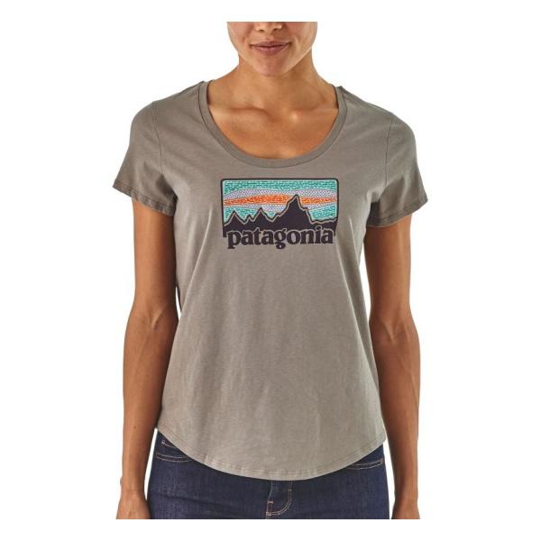Купить Футболка Patagonia Solar Rays '73 Organic Scoop женская