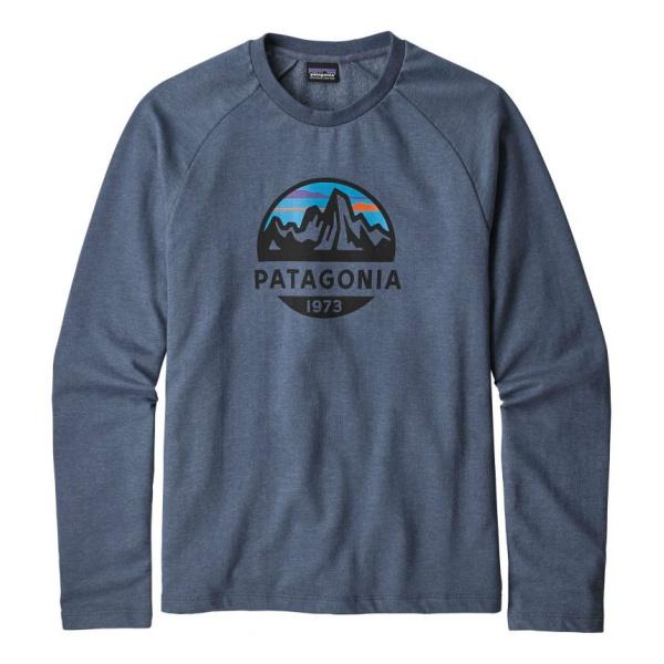 Свитер Patagonia Patagonia Fitz Roy Scope Lw Crew Sweatshirt crew neck floral print skull sweatshirt