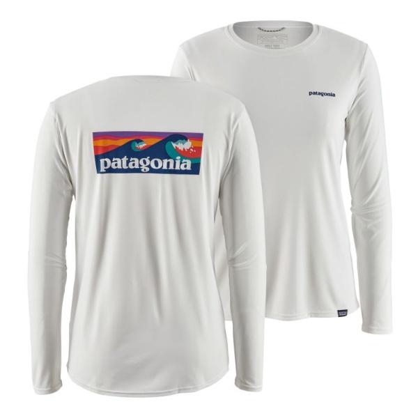 Футболка Patagonia Patagonia Long-Sleeved Capilene Cool Daily Graphic Shirt женская футболка patagonia patagonia capilene midweight crew женская
