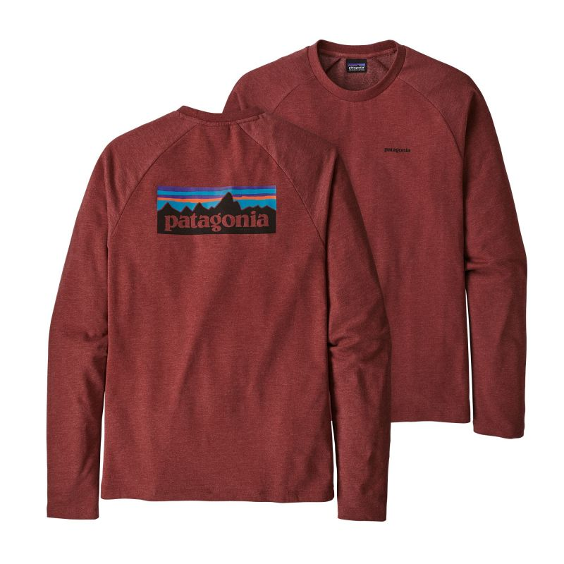 Футболка Patagonia Patagonia P-6 Logo LW Crew Sweatshirt футболка patagonia patagonia l s p 6 logo responsibili tee