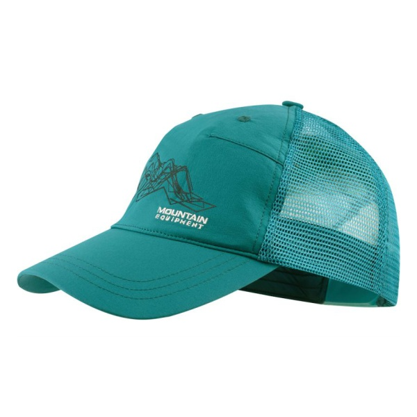 Кепка Mountain Equipment V13 Cap зеленый ONE