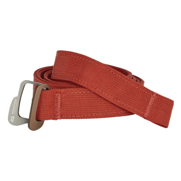 Ремень Mountain Equipment Doubleback Belt красный ONE