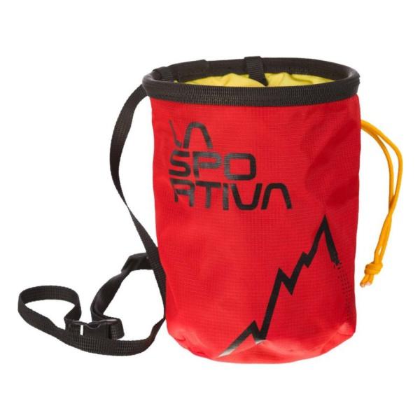 Мешочек для магнезии La Sportiva LaSportiva LSP Chalk Bag красный цена