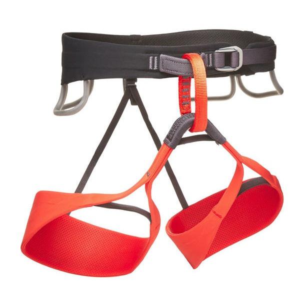 Страховочная система Black Diamond Black Diamond Solution Harness женская красный S