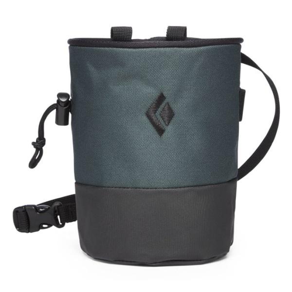 Мешочек Black Diamond для магнезии Mojo Zip Chalk Bag темно-зеленый S/M