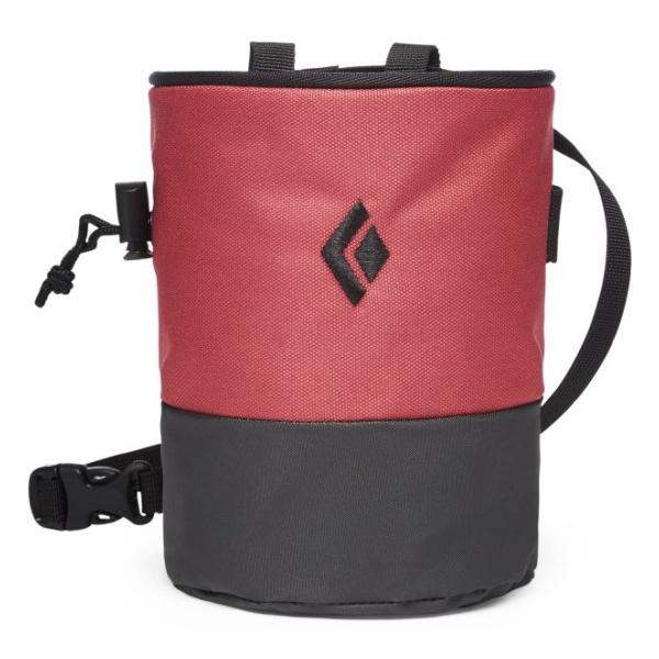 Мешочек для магнезии Black Diamond Black Diamond Mojo Zip Chalk Bag красный M/L