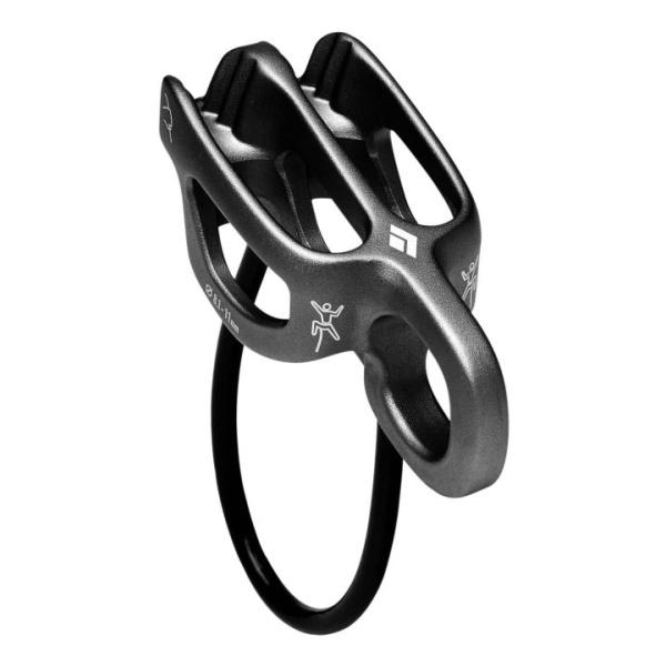 Страховочно-спусковое устройство Black Diamond Black Diamond ATC-Guide черный устройство спусковое vento восьмерка рогатая цвет черный
