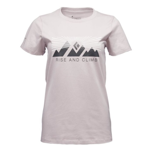 Футболка Black Diamond SS Rise And Climb Tee женская