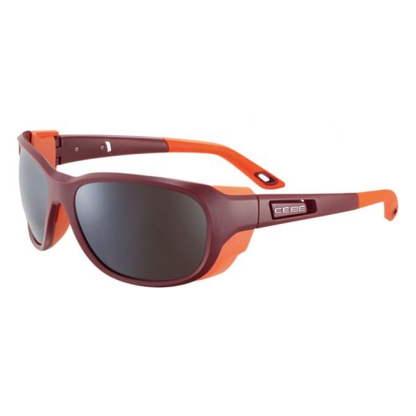 Очки Cebe Cebe Everest темно-красный очки cebe cebe ice8000 темно серый