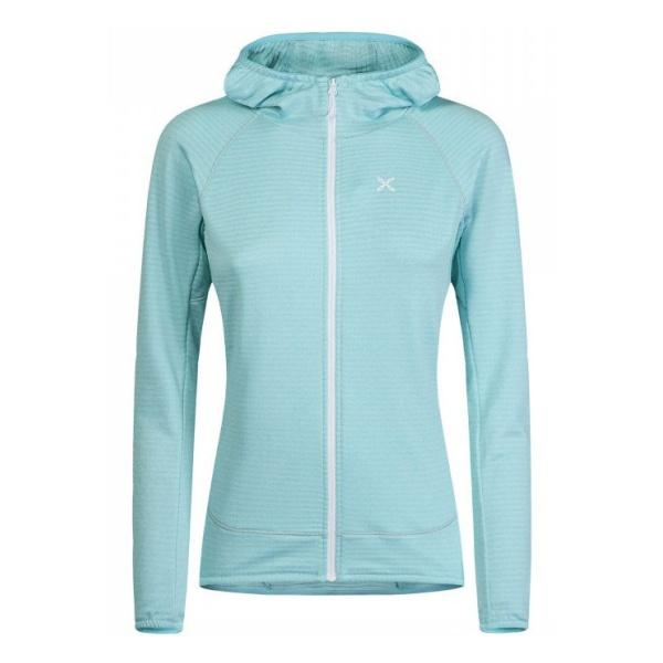 Куртка Montura Montura Thermal Grid Hoody Maglia женская светло-голубой L толстовка montura montura eldorado sweat женская