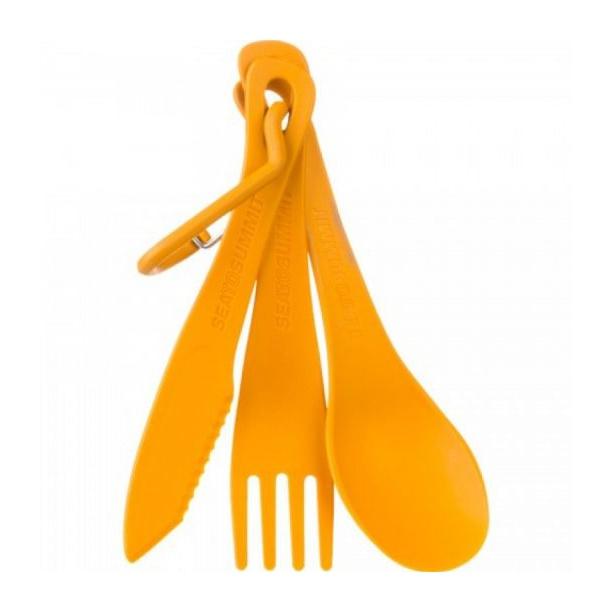 Набор SEATOSUMMIT Seatosummit Delta Cutlery Set (ложка, вилка, нож) оранжевый мешок seatosummit seatosummit компрессионный ultra sil™ compression sack синий 20л