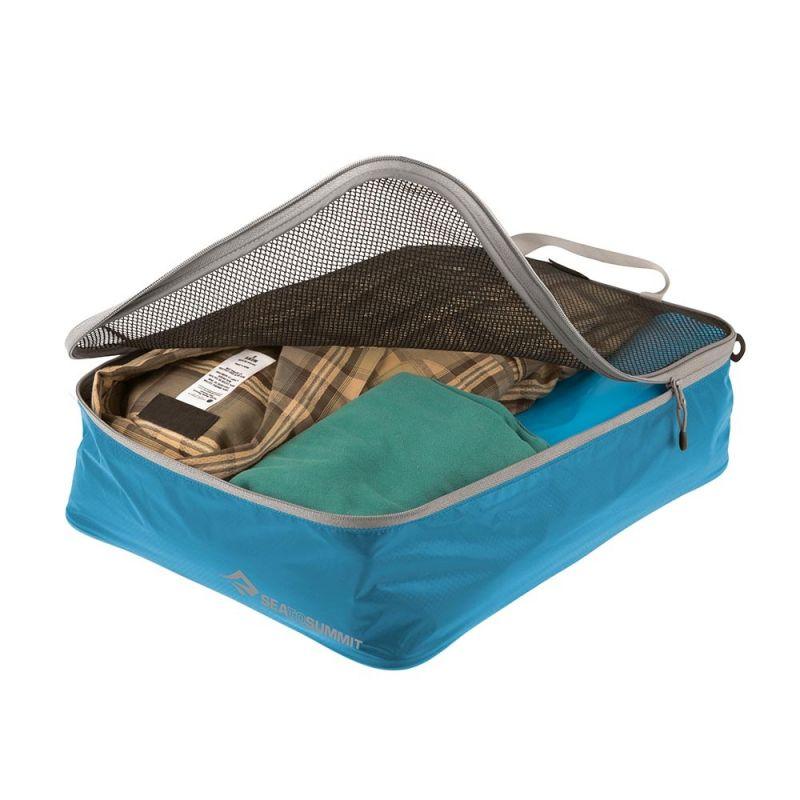 Сумка дорожная SEATOSUMMIT Seatosummit Garment Mesh Bag Medium для одежды серый 8Л