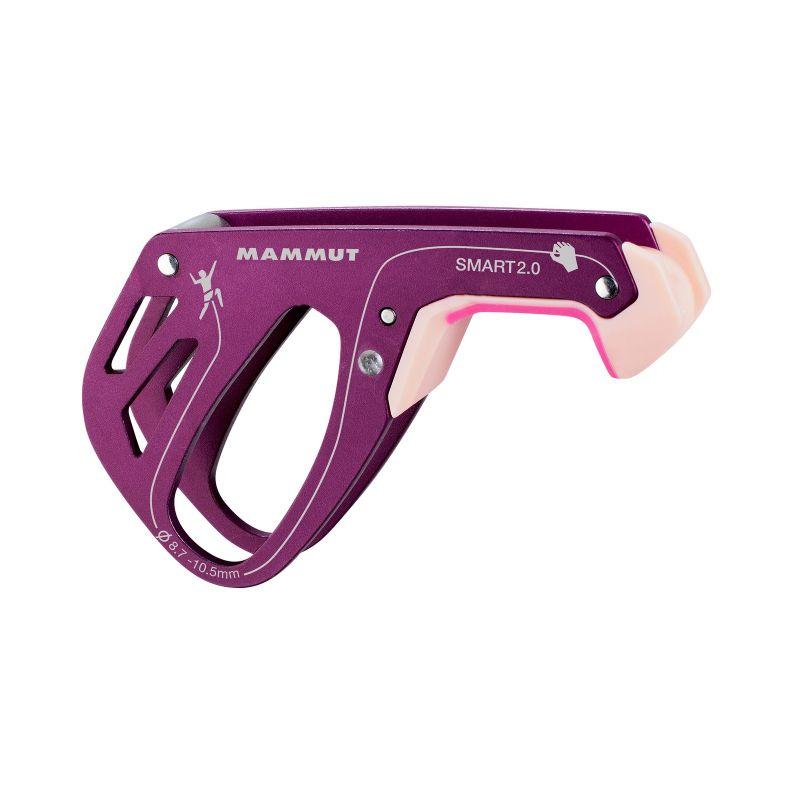 Страховочное устройство Mammut Smart 2.0 фиолетовый 8.7/10.5ММ