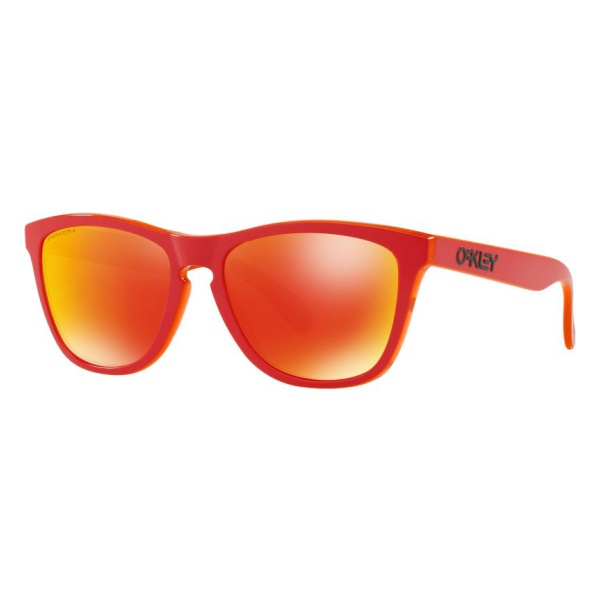 Фото - Очки Oakley Oakley C/3 Frogskins красный ONESIZE очки oakley oakley c 3 crossrange shield синий onesize