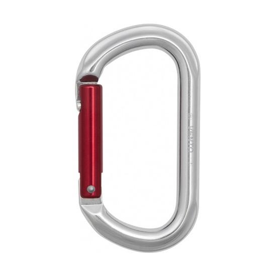 Карабин Vento Венто «Скалолазный ОВАЛ» с прямой защелкой keylock