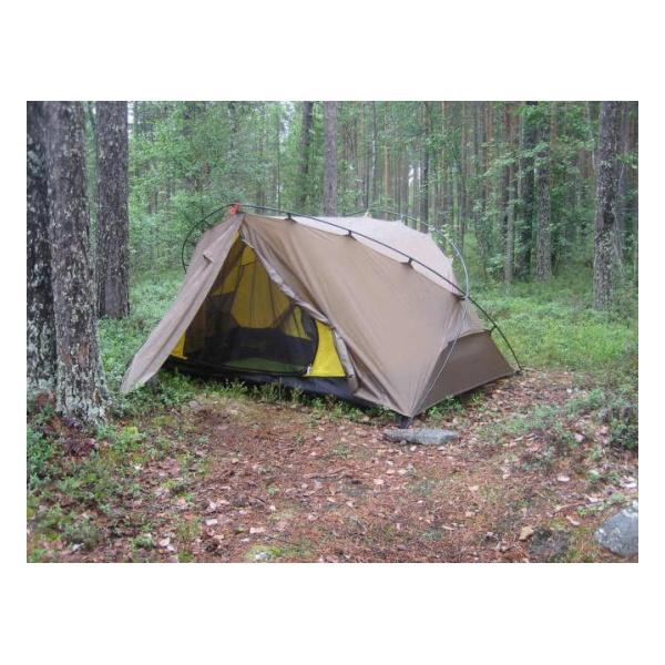 Палатка Normal Normal Траппер 2 SI/PU желтый 2/местная