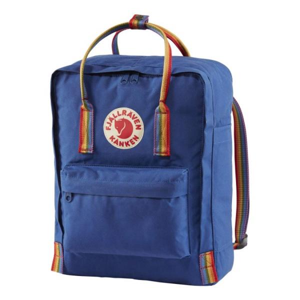 Рюкзак FjallRaven FjallRaven Kanken Rainbow 16L синий 16л цены онлайн